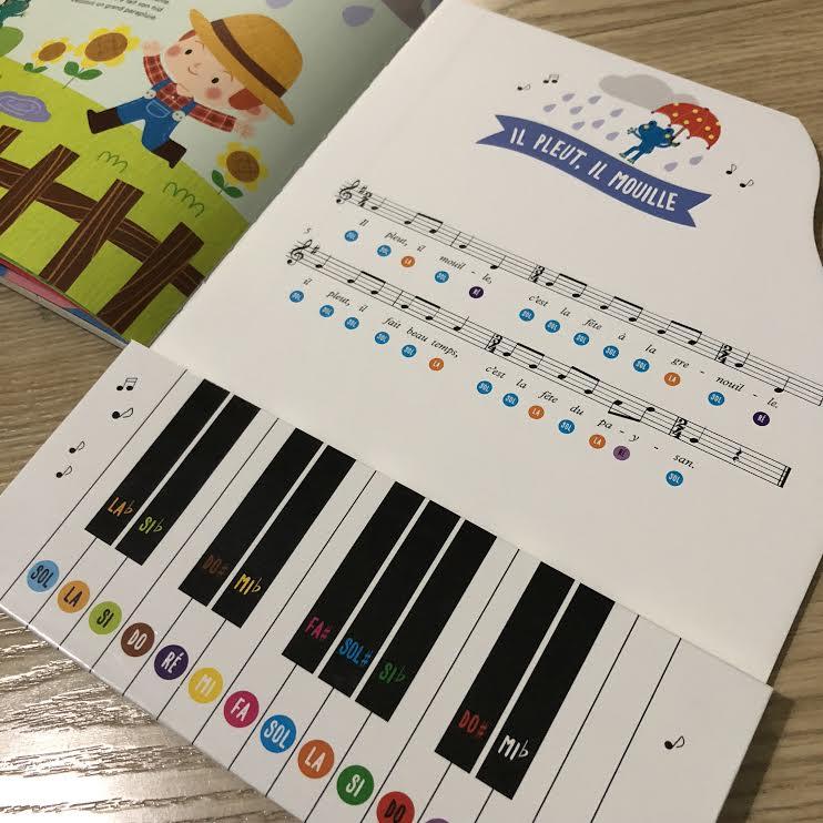 Mes comptines préférées au piano