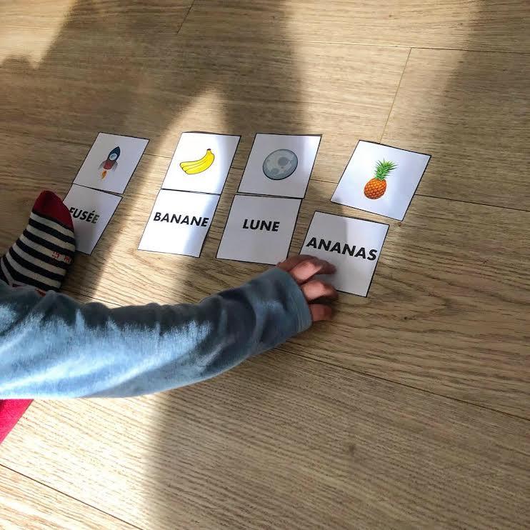 jeu de mots pour apprendre à lire