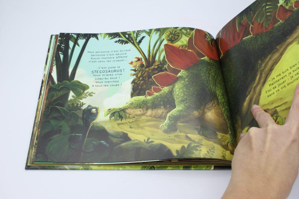Gigantosaurus, l'histoire originale chez Larousse Jeunesse