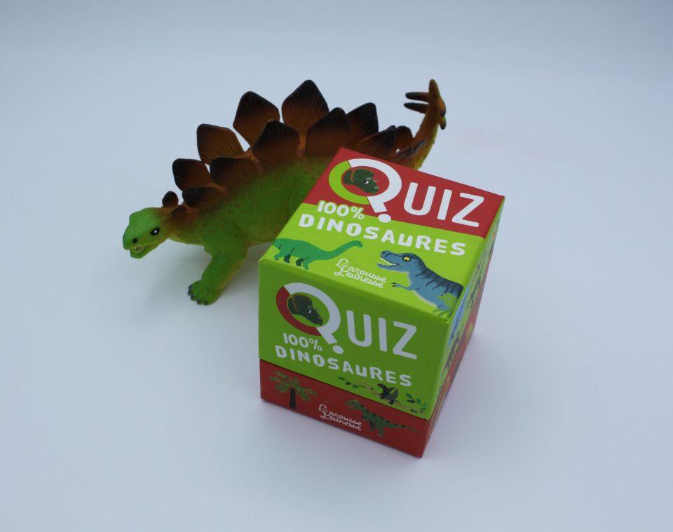 Quiz 100% Dinosaures - Larousse Jeunesse