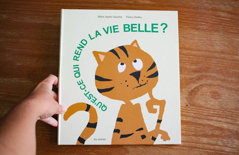 """""""Qu'est-ce qui rend la vie belle?"""" aux Éditions Les Arènes"""