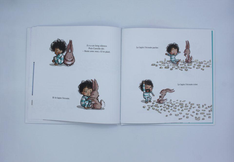 Et le lapin m'a écouté - Gallimard Jeunesse