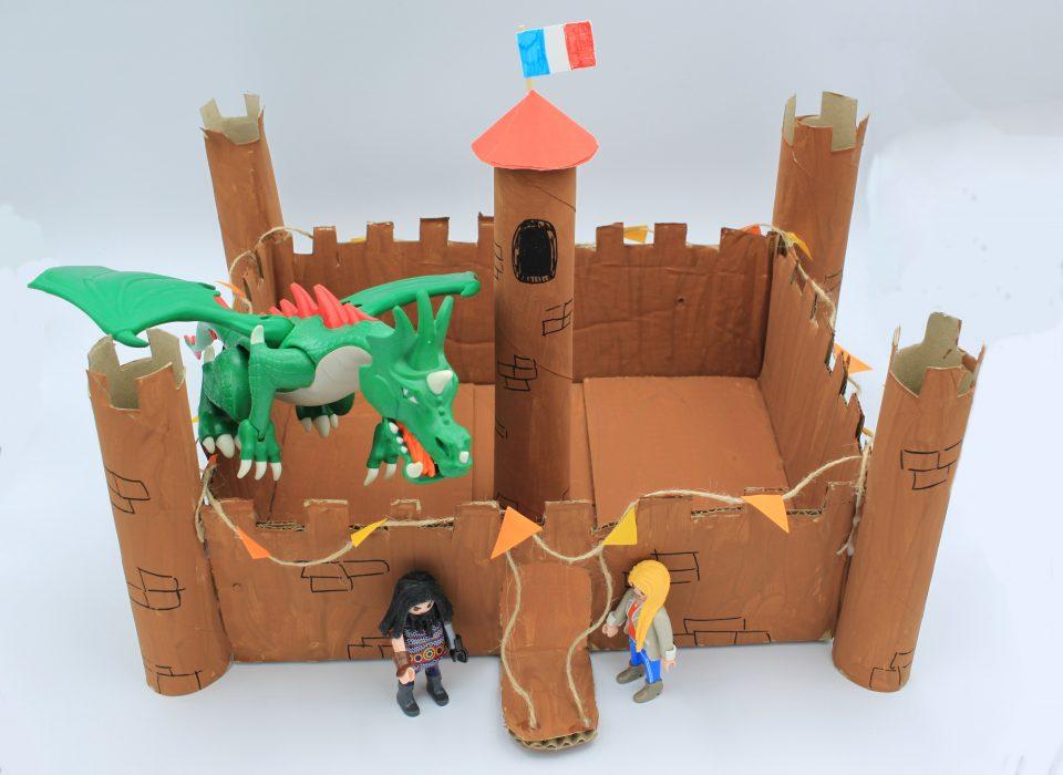 tuto château fort en carton
