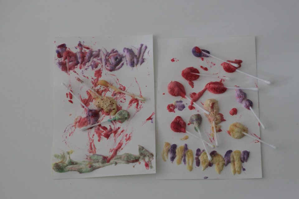 Peinture gonflante