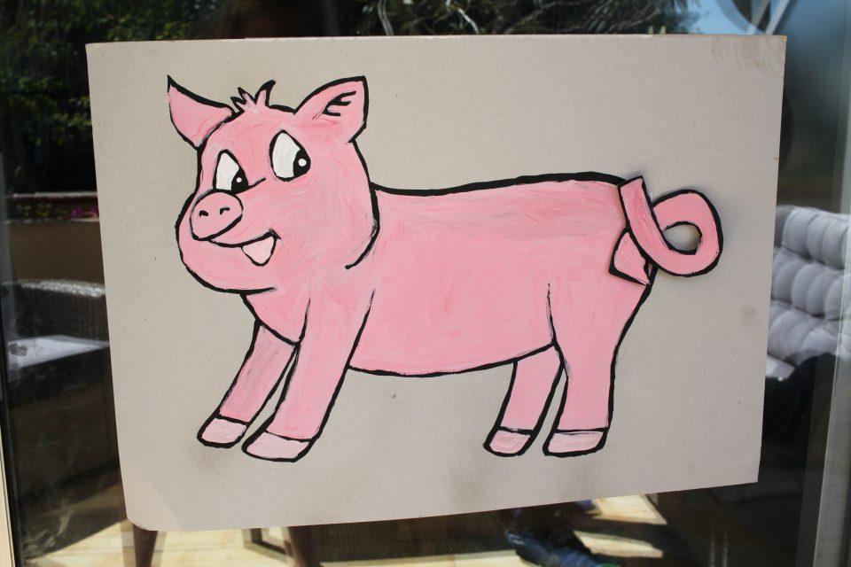 Tuto jeu du cochon comme à la kermesse