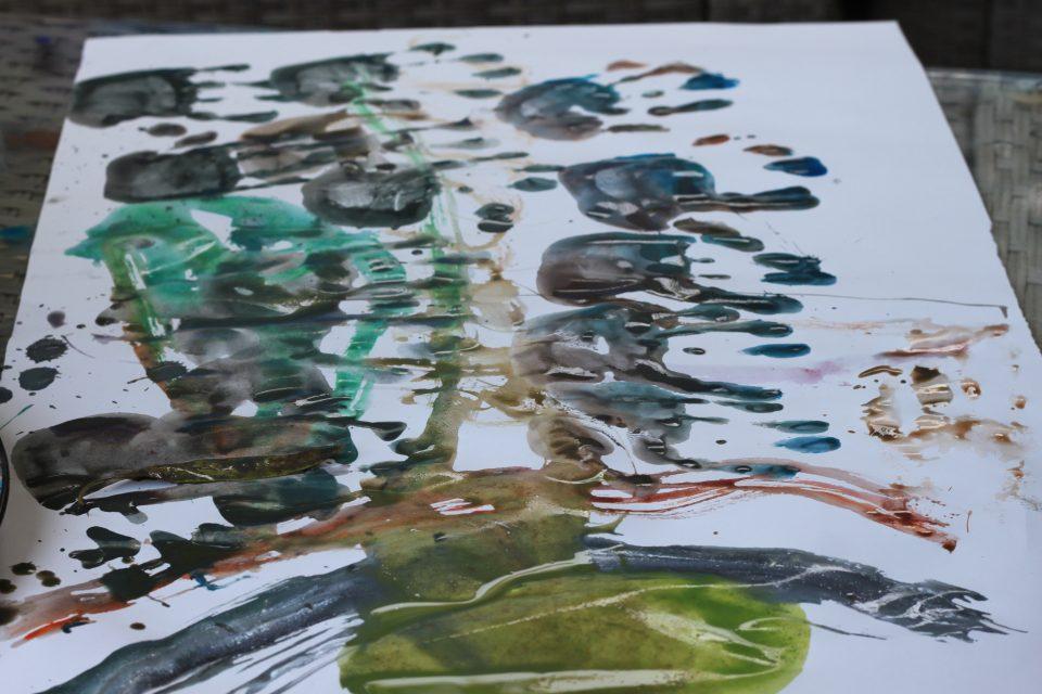 Peinture glaçon
