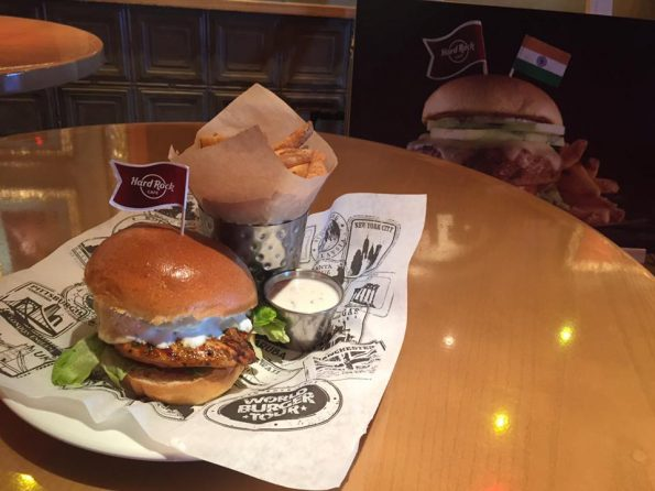 Burger Hard Rock Café Nice
