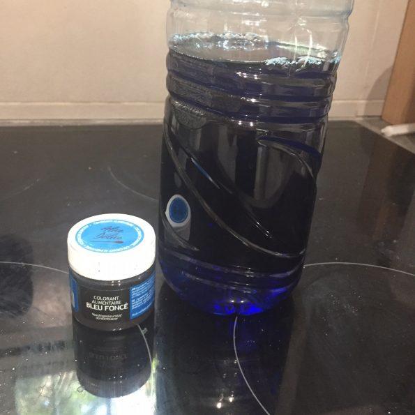 glaçons bain couleur bleue1