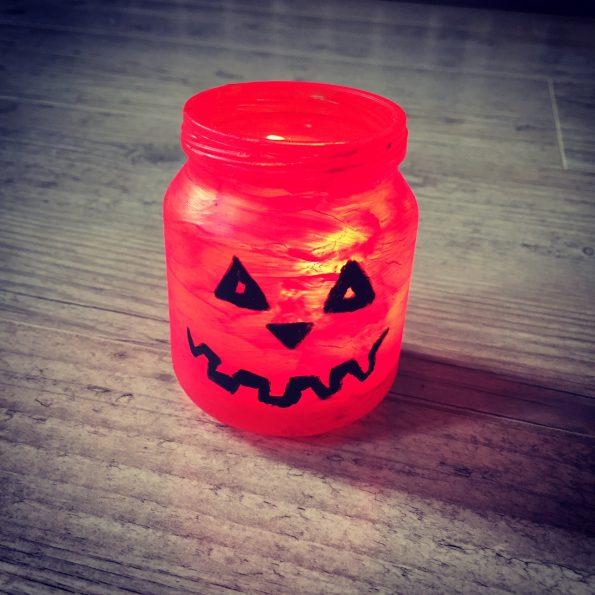 pot de bébé Halloween