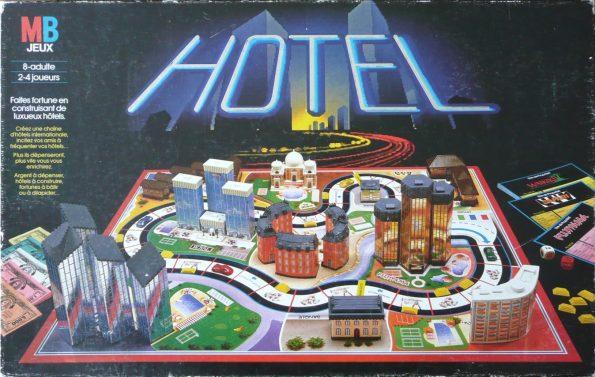 jeu de société hôtel