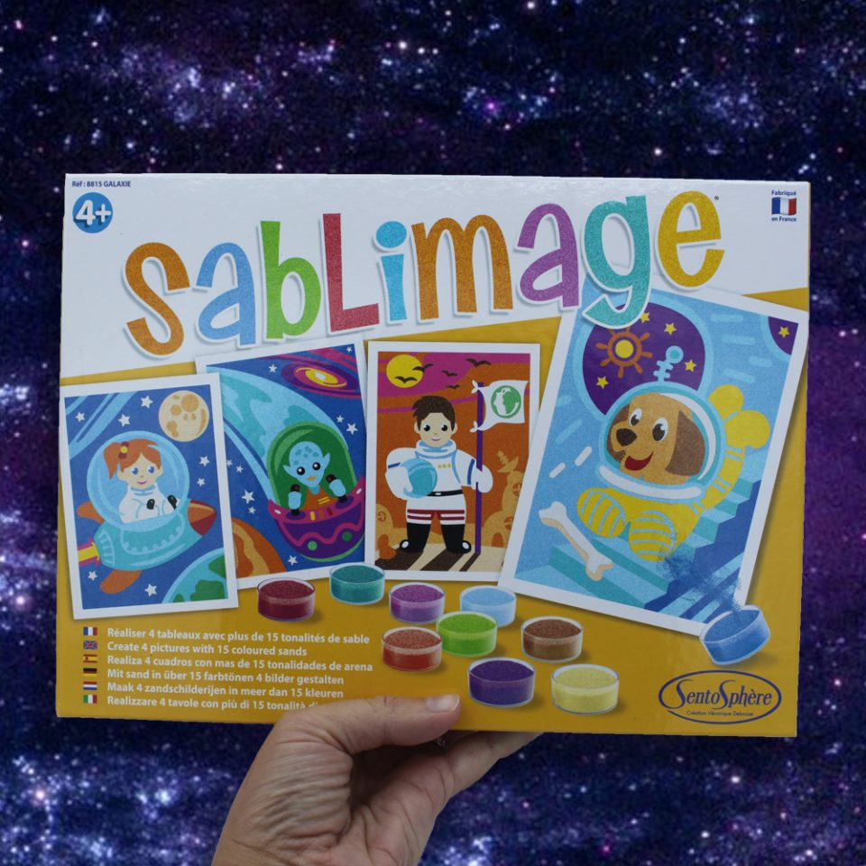 Sablimage Galaxie
