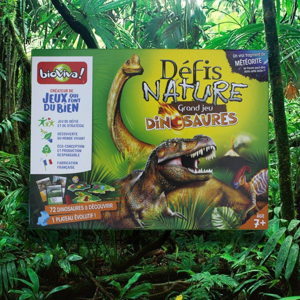 Défis Nature Grand Jeu Dinosaures - Bioviva