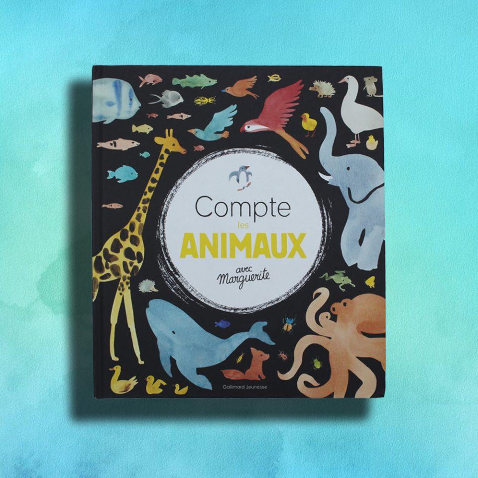 Comptes les animaux avec Marguerite - Gallimard Jeunesse