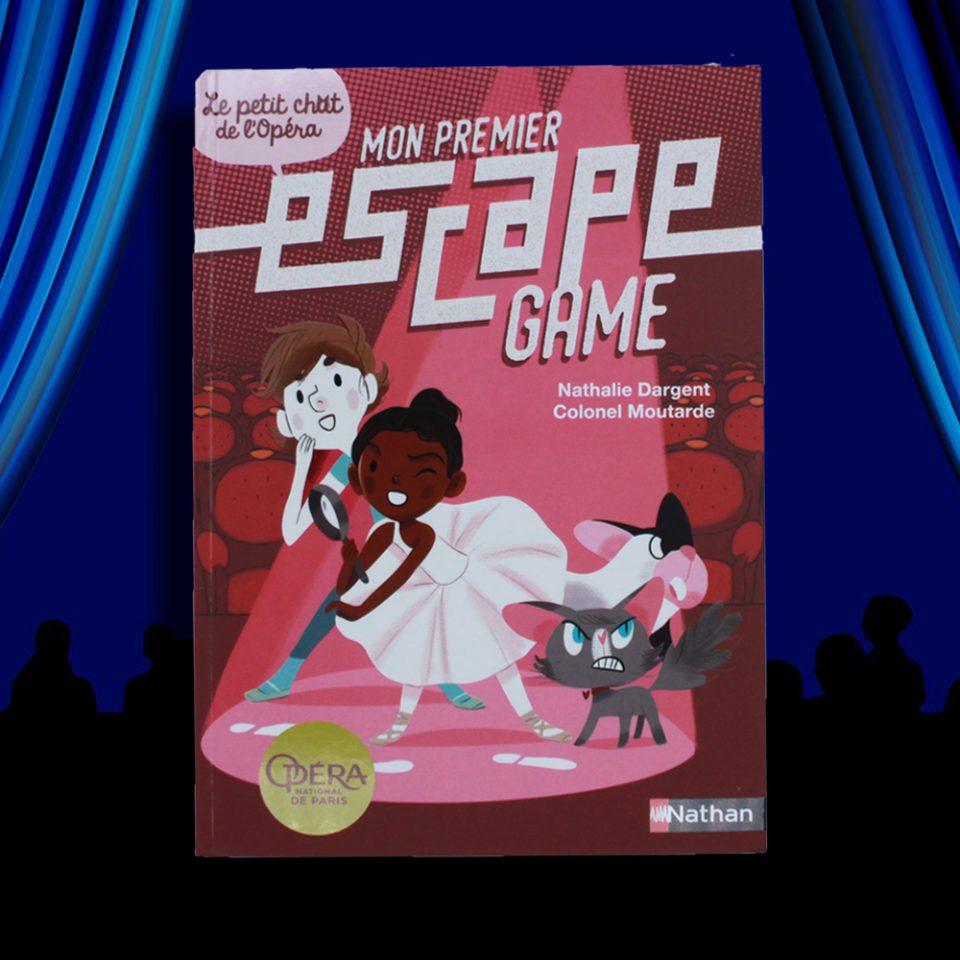 Mon premier escape game - Le petit chat de l'opéra