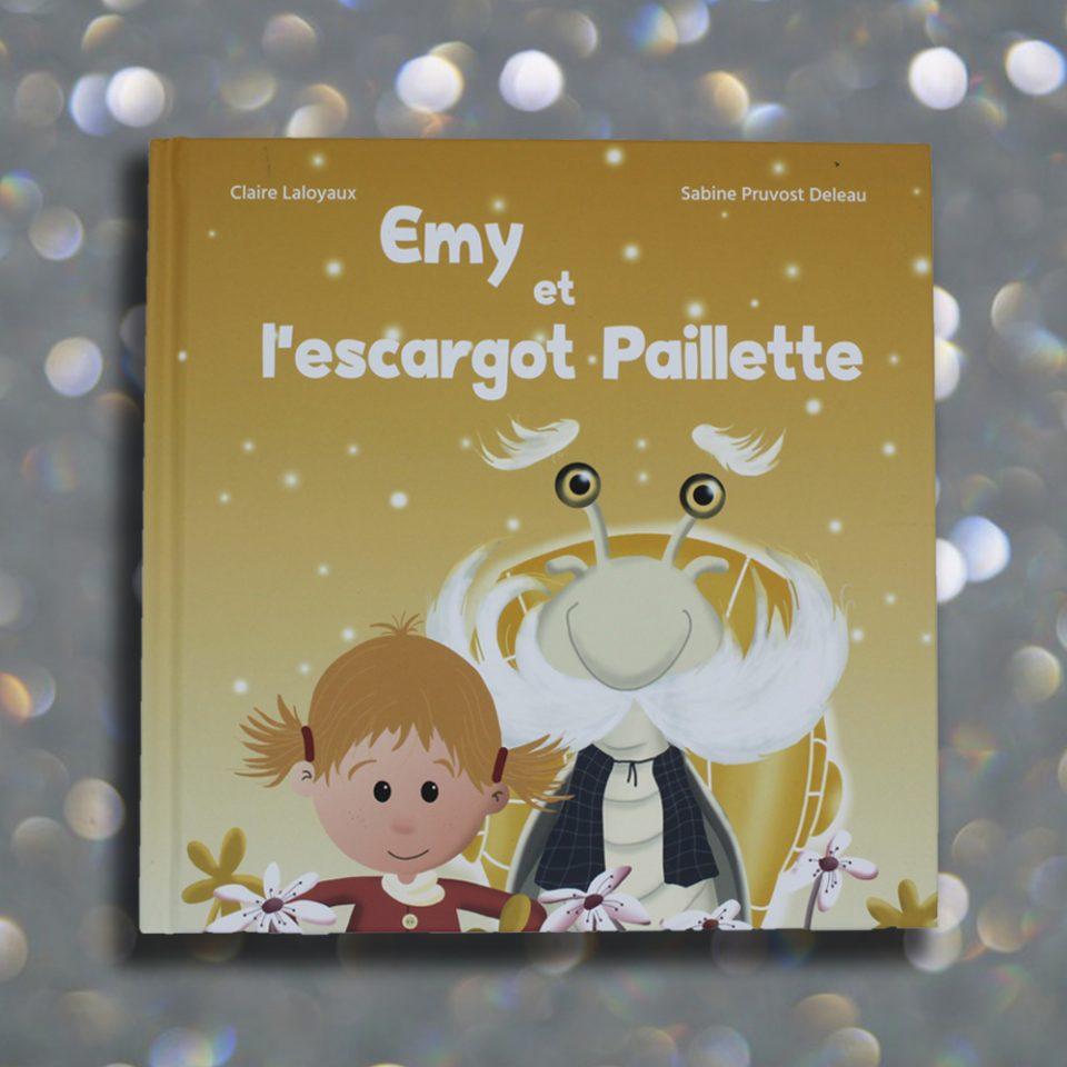Emy et l'escargot Paillette