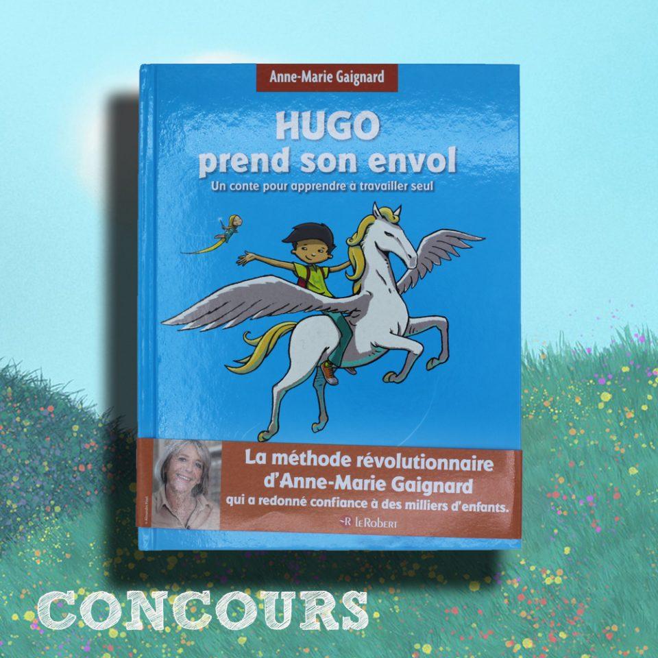 Hugo prend son envol