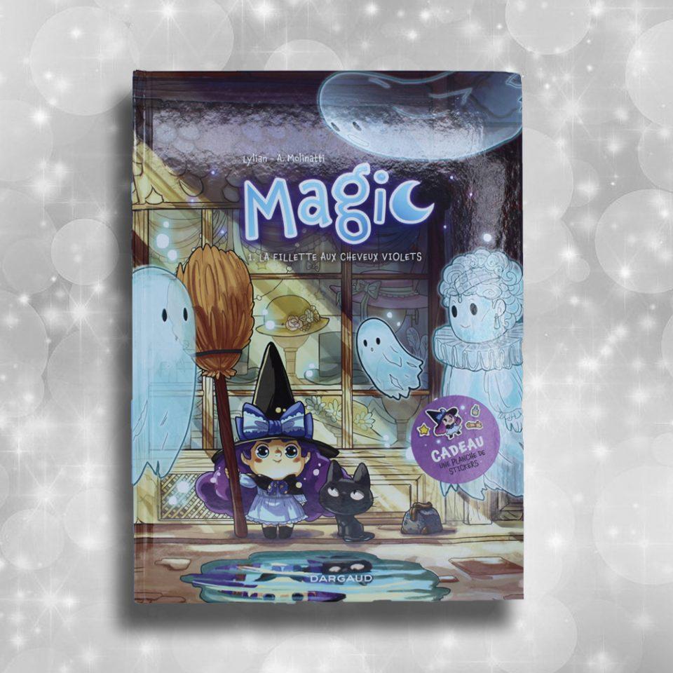 Magic - La fillette aux cheveux violets
