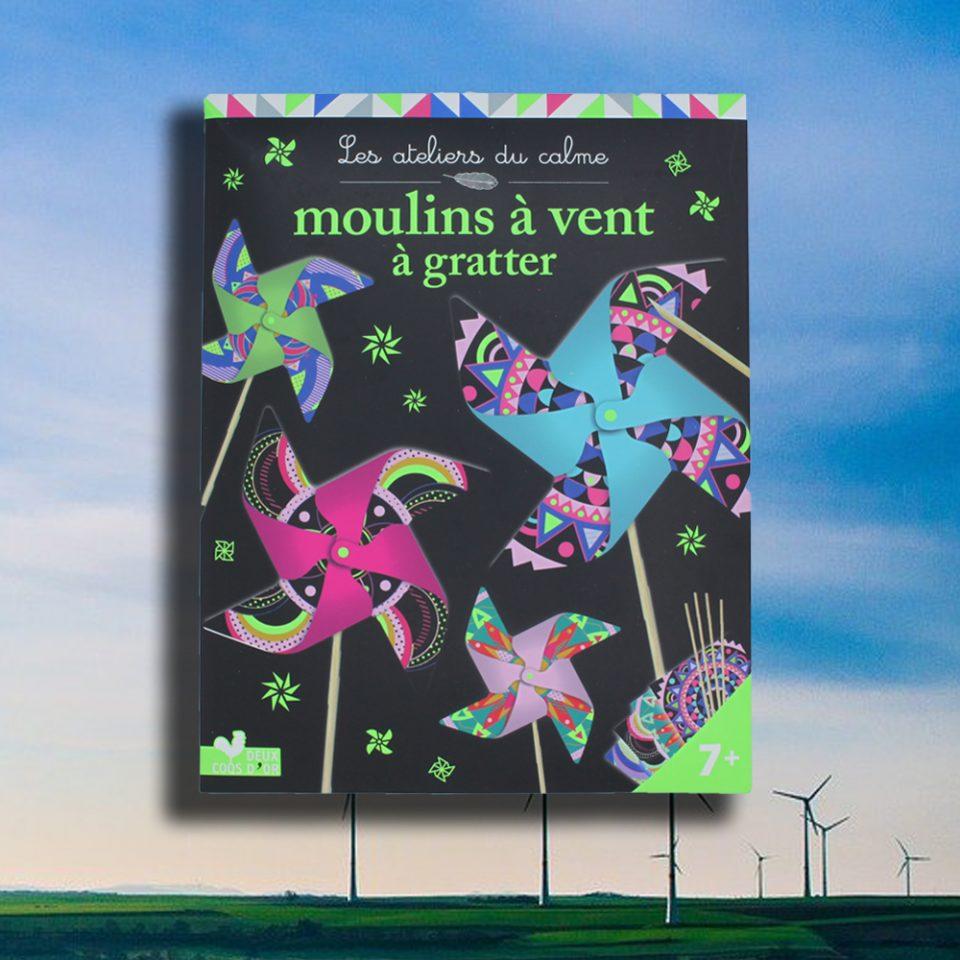 Les ateliers au calme - Moulins à vent à gratter