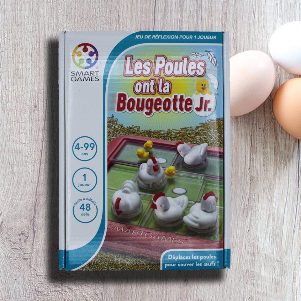 Nouveauté SmartGames: Les poules ont la bougeotte Jr.