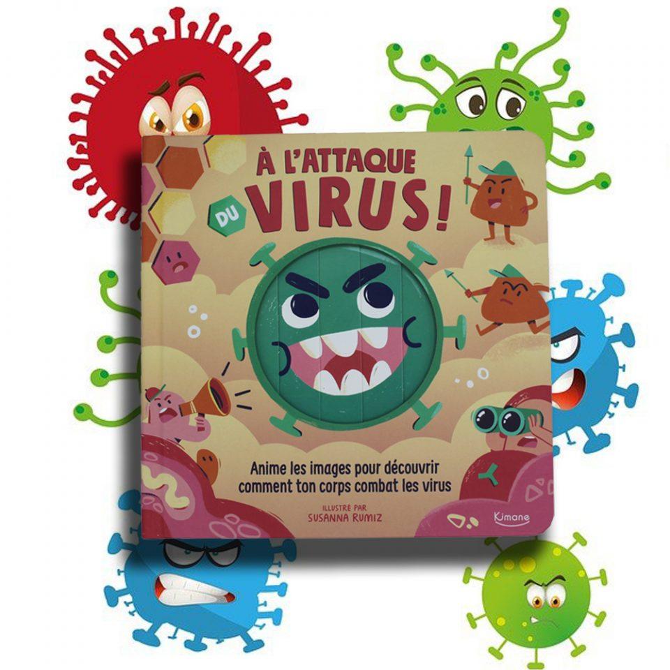 À l'attaque du virus ! - Éditions Kimane