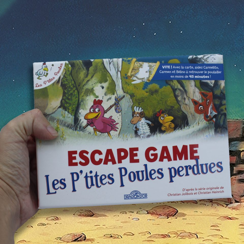 Escape Game - Les P'tites Poules perdues